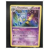 2016 Pokemon Chandelure Rare/Holo 50/114