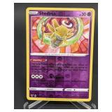 2020 Pokemon Shedinja Rare/Reverse Holo 66/185