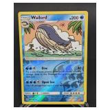 2017 Pokemon Wailord Rare/Reverse Holo 30/145