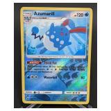 2017 Pokemon Azumarill Rare/Reverse Holo 35/147