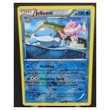 2014 Pokemon Jellicent Rare/Reverse Holo 21/119