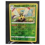 2020 Pokemon Ninjask Rare/Rev. Holo 14/185