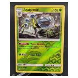 2018 Pokemon Araquanid Rare/Rev. Holo 17/156