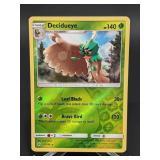 2017 Pokemon Decidueye Rare/ Rev. Holo 11/149
