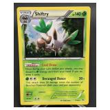2014 Pokemon Shiftry Rare/ Holo 7/106