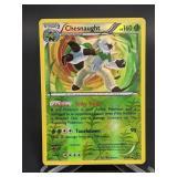 2014 Pokemon Chesnaught Rare/Rev. Holo 14/146