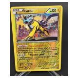 2015 Pokemon Raikou Rare/Reverse Holo 55/162
