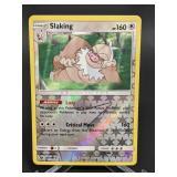 2018 Pokemon Slaking Rare/Reverse Holo 115/168