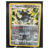 2020 Pokemon Aggron Rare/Reverse Holo 123/189