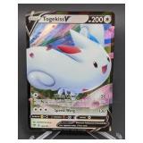 2020 Pokemon Togekiss V Rare/Holo 140/185