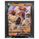 2020 Pokemon Regirock V Rare/Holo 104/202