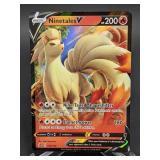 2020 Pokemon Ninetales V Rare/Holo 26/192