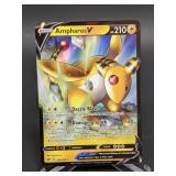 2020 Pokemon Ampharos V Rare/Holo 49/185