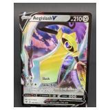 2020 Pokemon Aegislash V Rare/Holo 126/185