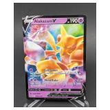 2021 Pokemon Alakazam V Promo/Holo SWSH083