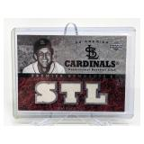 63/75 2002 UD Premier Stan Musial Relic Materials