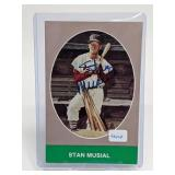 1984 Stan Musial Signed Postcard