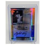 7/25 2004 Playoff Absolute Gaylord Perry Auto