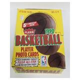 1990-91 Fleer Basketball 36 Pack Wax Box