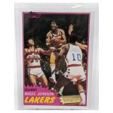 1981 Topps Magic Johnson #21