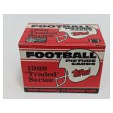 """1989 """"Traded"""" Series Topps Football Picture Card"""