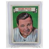 1967 Topps Who AM I? Babe Ruth Baseball Heroes #12