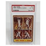 1962 Topps Ford Tosses A Curve #315 PSA 4