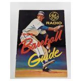 1958 GE Radio Baseball Guide Book