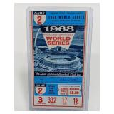 1968 World Series Busch Memorial Stadium Ticket