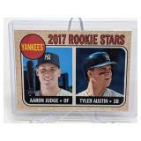 2017 Rookie Stars Aaron Judge/Tyler Austin #214
