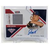 179/399 2020 USA Baseball Jason Savacool RelicAuto