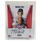 391/499 2019 USA Baseball Mason Feole Auto