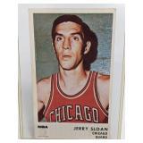 1972 NBA Jerry Sloan Icee Bear Facts Card