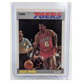 1987 Fleer Julius Erving #35