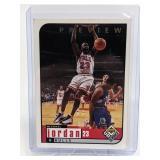 1998 Upper Deck UD Choice Michael Jordan Preview