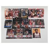 (14) Jordan/Garnett/Thomas/Parker Basketball Cards