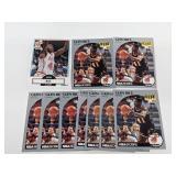 (10) Glen Rice Basketball Cards W/ Rookies