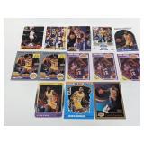 (13) Magic Johnson Basketball Cards