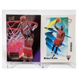 (2) Michael Jordan Basketball Cards