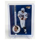 74/250 2001 Invincible Peyton Manning #98