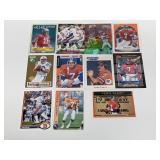 (11) Montana/Bledsoe/Elway/Manning Football Cards