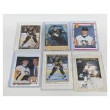 (6) Jaromir Jagr Hockey Cards W/ RC