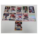 (11) Patrick Roy & Ed Belfour Hockey Cards