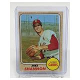 1968 Topps Mike Shannon #445