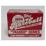 1986 Topps Traded Baseball Picture Cards Pack