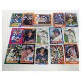 (50) 1986-91 HOF & Stars Baseball Player Cards