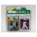 Sealed 100 Baseball Trading Cards