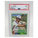 1981 Topps Traded Tim Raines PSA Mint 9 #816 RC