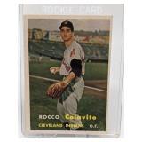 1957 Topps Baseball Rocco (Rocky) Colavito Rookie