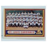 1957 Topps St Louis Cardinals Team Card